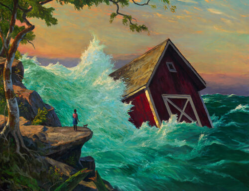 2 Paintings Selected for Huntington Beach Juried Show