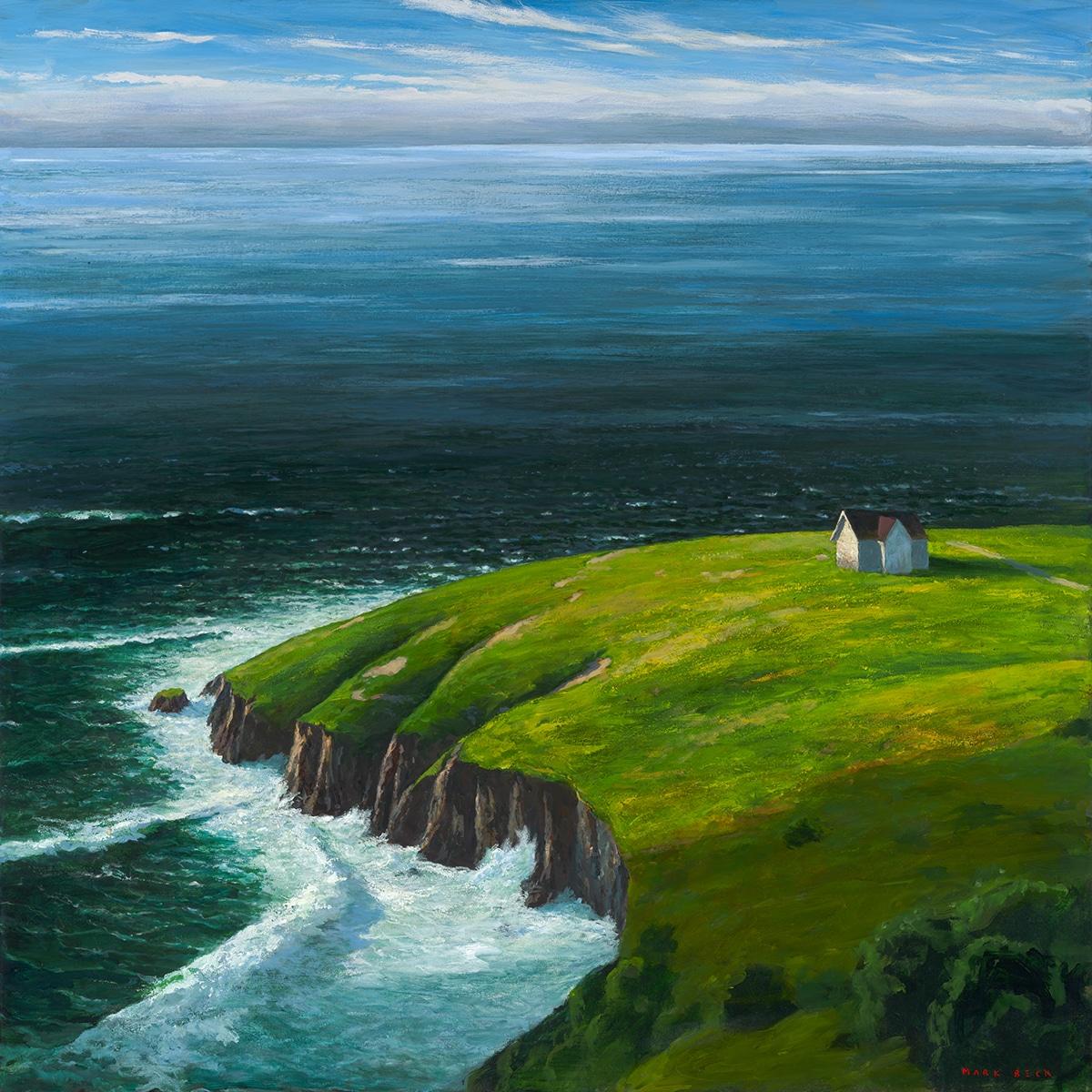 American Artist Mark Beck's Landscape Painting